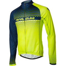 PEARL iZUMi Elite LTD Maillot à manches longues Thermique Homme, screaming yellow/navy